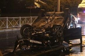 За одну ночь на проспекте Косыгина в ДТП попали восемь автомобилей