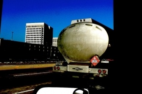 МАЗ снес остановку на Московском шоссе, трое госпитализированы