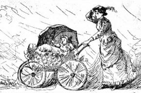 В Петербурге «Пежо» сбил коляску с ребенком на пешеходном переходе