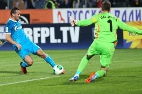 «Зенит» разгромил «Ростов» со счетом 4:0 в матче чемпионата России