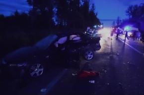 В ДТП на Петергофском шоссе пострадали три человека