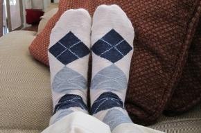 Британец носит одну и ту же пару носков уже 25 лет