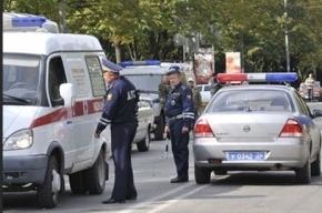 Пьяный водитель скутера ударил инспектора ДПС после ДТП в Петербурге