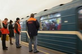 В московском метро загорелась кабина машиниста поезда