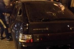 В ночной перестрелке в центре Петербурга ранены двое