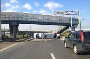 На Московском шоссе в ДТП с микроавтобусом пострадали 9 человек