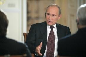 Навальный оседлал модную тему коррупции ради политических очков, заявил Путин