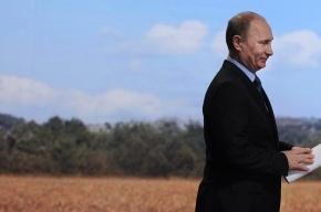 Путин пообщался с комбайнерами и отведал борща