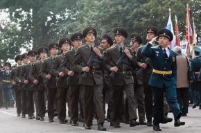 В Михайловской военной артиллерийской академии состоялась «линейка»