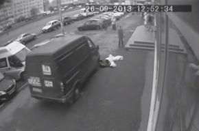В Купчино «ГАЗель» переехала уже мертвого пешехода