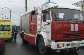 Автомобиль раздавил трех человек на остановке в Петербурге