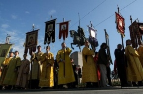 Полиция не спешит штрафовать организаторов крестного хода