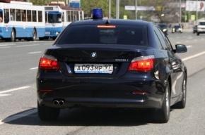 Водитель VIP-авто избил пешехода в центре Москвы