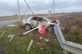 В Ленобласти полицейский погиб в ДТП на трассе «Нарва»