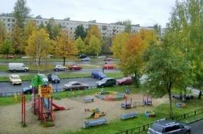 Смольный восстановит детскую площадку на проспекте Науки, 44
