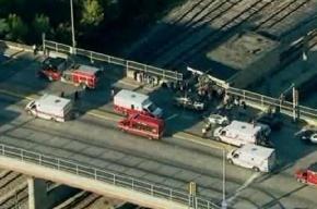 В метро Чикаго столкнулись два поезда