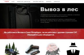 В Петербурге заработал сайт по найму киллеров