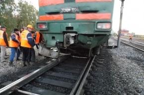 В Татарстане петербургский поезд столкнулся с легковым автомобилем