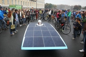 В Петербурге дипломаты Евросоюза возглавили велопарад