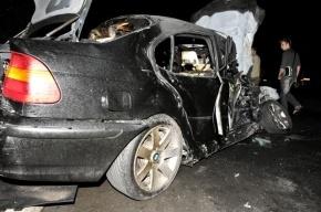В ДТП в Ленобласти погиб полицейский и двое его детей