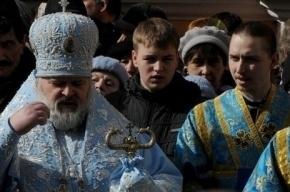 По Невскому проспекту в Петербурге прошел Крестный ход