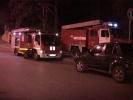 Фоторепортаж: «На набережной Екатерингофки ночью горело производственное здание»