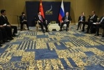 Фоторепортаж: «Встреча с Председателем КНР Си Цзиньпином, 7 октября 2013»