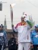 Фоторепортаж: «Эстафета Олимпийского огня в Москве»