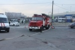 Пожарные на станции метро «Обухово»: Фоторепортаж