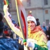 Эстафета олимпийского огня в Ленобласти 26 октября 2013 года. : Фоторепортаж