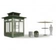 В Петербурге представлен новый дизайн торговых павильонов: Фоторепортаж