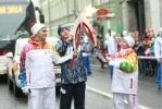 Петербургский этап эстафеты Олимпийского Огня 27 октября 2013 года Фото Trend : Фоторепортаж