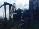 Фоторепортаж: «В Парголово горят частные погреба»