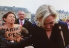 Акция Femen во Франции против Ле Пен 26 октября 2013 года.: Фоторепортаж