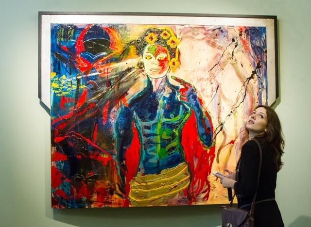 Выставка Сильвестра Сталлоне в Русском музее: Фото