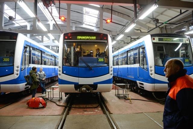 Новый поезд НеВа: Фото