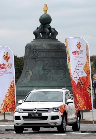 эстафета олимпийского огня в москве, 6-9 октября 2013: Фото