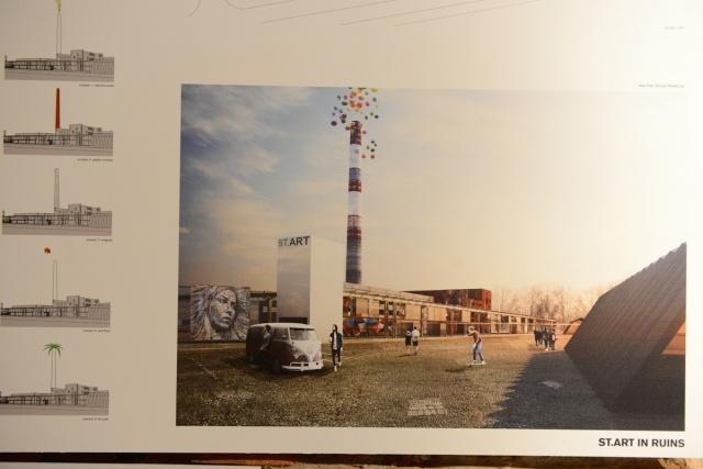 Выставка проектов музея стрит-арта: Фото