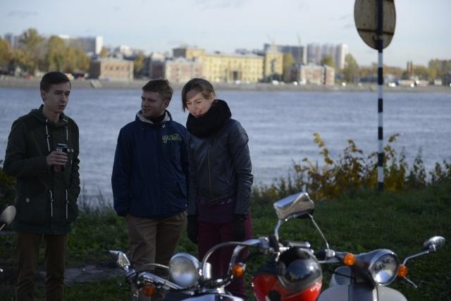 Закрытие сезона скутеристов 12 октября 2013 года Фото: Сергей Николаев: Фото