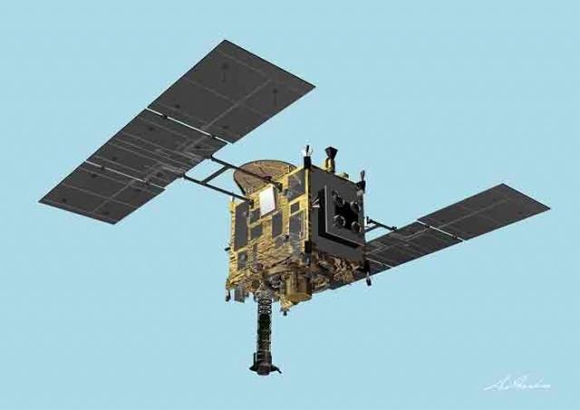 Зонд «Хаябуса-2»: Фото
