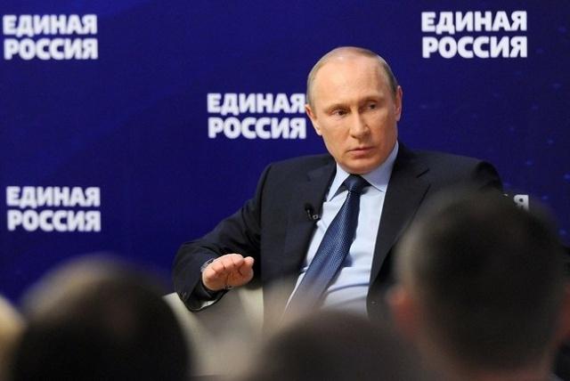 Путин встречается с Единой Россией 3 октября 2013: Фото