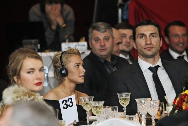 Владимир Кличко и Хайден Панеттьери: Фото