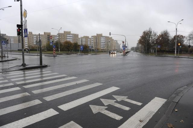 Перекресток в Красном Селе, на котором планируется поставить триумфальную арку: Фото
