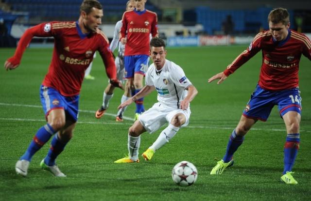 Матч ЦСКА - «Виктория» 2 октября 2013 года: Фото