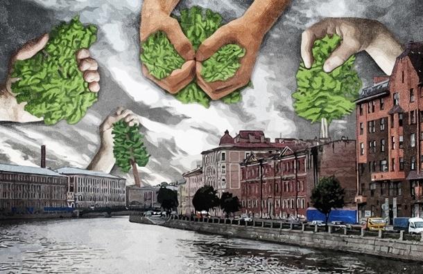 Скверы Петербурга, которые еще смогут защитить депутаты