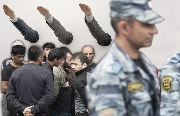 Националисты не пожалели своей крови ради провокации против мигрантов