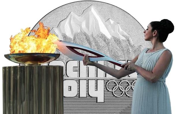 Кого в России согревает олимпийский огонь?