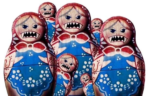 Жизнь в России как один сплошной Хеллоуин