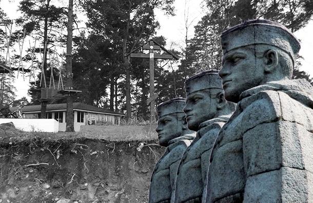 Строители железной дороги в Ленобласти «подкопались» под военную могилу