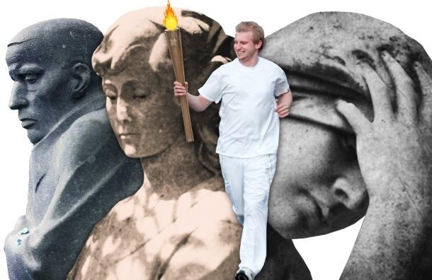 Жителей Пушкина в добровольно-принудительном порядке просят поприветствовать Олимпийский огонь